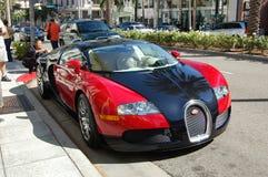 Bugatti sur Rodeo Drive Image stock