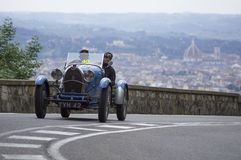 Bugatti T 40 driven by Tonconogy Juan Stock Image