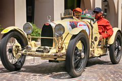 BUGATTI T 37  during the 1000 Miles Royalty Free Stock Photography