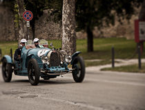 BugattiT 35A1926 Royalty Free Stock Photography