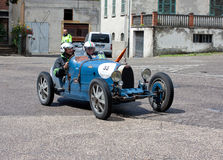 Bugatti T 37 przy Mille Miglia 2013 Obrazy Royalty Free
