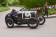 Bugatti T 13 in rally Mille Miglia 2013 Royalty Free Stock Photography