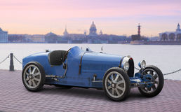 Bugatti type 35b. Royalty Free Stock Photo