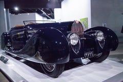 1939 Bugatti-Type 57C door Vanvooren Stock Afbeeldingen