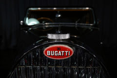 Bugatti Type 57 Coach Ventoux. 1957 model, is on display in a private collection in Bucharest, Romania Royalty Free Stock Photography