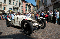 Bugatti-Type 37A in Mille Miglia 2015 Stock Afbeelding