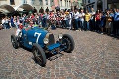 Bugatti-Type 37 in Mille Miglia 2015 Royalty-vrije Stock Afbeelding