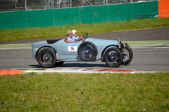 1924 Bugatti-Type 30 in Mille Miglia Royalty-vrije Stock Foto