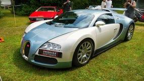 Bugatti Veyron, έξοχο σπορ αυτοκίνητο, αυτοκίνητο πολυτέλειας στοκ φωτογραφία με δικαίωμα ελεύθερης χρήσης