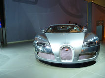 Bugatti Veyron. DUBAI, UAE - DECEMBER 19: Buggati Ghost on display during Dubai Motor Show 2009 at Dubai Int'l Convention and Exhibition Centre December 19, 2009 Stock Images