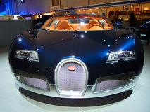 Bugatti Veyron. On display during Dubai Motor Show 2009 at Dubai Int'l Convention and Exhibition Centre December 19, 2009 in Dubai, United Arab Emirates Stock Image