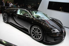 Bugatti veyron. A picture of bugatti veyron at shanghai car show Royalty Free Stock Image