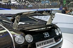 Bugatti Veyron 2014. At Geneva motor show Stock Images
