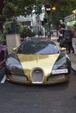 Bugatti Veyron Fotografia Stock Libera da Diritti