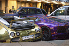 Bugatti Veyron Fotografie Stock Libere da Diritti