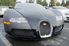 Bugatti Veyron on display Royalty Free Stock Image