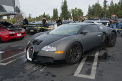 Bugatti Veyron on display Royalty Free Stock Photos