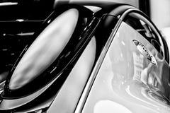Bugatti Veyron EB 16的片段 4是一辆中间装有引擎的盛大游览车 库存照片