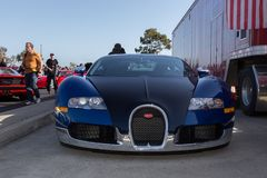 Bugatti veyron  at Hilltop cars and coffee 2018 Stock Images