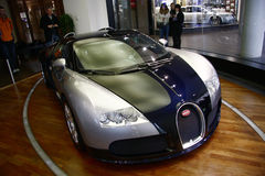 Bugatti Veyron. JUNE 2011 - BERLIN: a Bugatti Veyron, the fastest serial car in the world Stock Photos