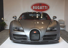 Bugatti Veyron 16.4 luxury sport car Royalty Free Stock Photography