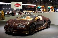 Bugatti Veyron Pur Sang Geneva 2014 Stock Image