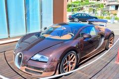 Bugatti Veyron Rembrandt in Porto Cervo Stock Afbeeldingen