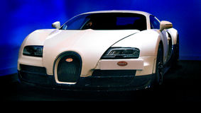 Bugatti Veyron sport car Stock Images