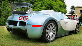 Bugatti Veyron Sports Car Royalty Free Stock Images