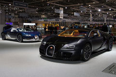 Bugatti Veyron Super Sport and Grand Sport Stock Photos