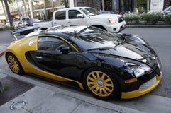 Bugatti Veyron Supercar Imagem de Stock