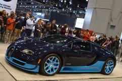 Bugatti Veyron Supercar obraz stock