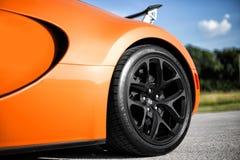 Bugatti Veyron Vitesse Images libres de droits