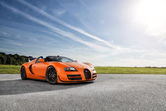 Bugatti Veyron Vitesse Immagine Stock Libera da Diritti