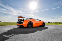 Bugatti Veyron Vitesse Stock Photo