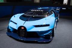 Bugatti visionGran Turismo begrepp 2015 Royaltyfria Bilder
