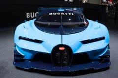 Bugatti visionGran Turismo begrepp 2015 Royaltyfria Foton