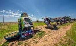 Bugg rancho na trasie 66 w Teksas Obrazy Royalty Free