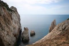 Buggerru gulf, Sardinia (Italy) Stock Image