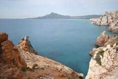 Buggerru gulf, Sardinia (taly) Stock Images