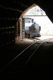 Buggerru kopalnia, Buggerru Sardinia, Włochy (-) Fotografia Royalty Free