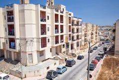 Buggiba, Malta Stockbild