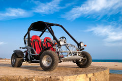 Buggy 4x4 on The Beach Royalty Free Stock Images