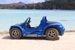 Buggy auf Strand Stockfotos