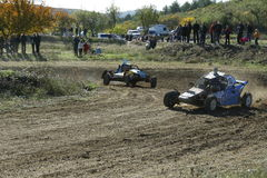 Buggy battle Stock Images