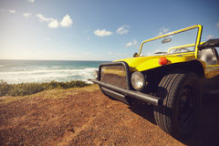 Buggy car in beautiful landscape Royalty Free Stock Images