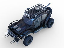 Buggy car. 3D CG rendering of buggy car Stock Images