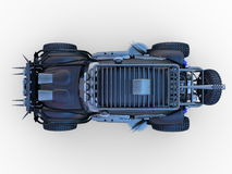 Buggy car. 3D CG rendering of buggy car Royalty Free Stock Photo
