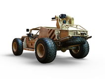 Buggy car. 3D CG rendering of a buggy car Royalty Free Stock Photography