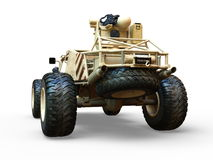 Buggy car. 3D CG rendering of a buggy car Royalty Free Stock Images